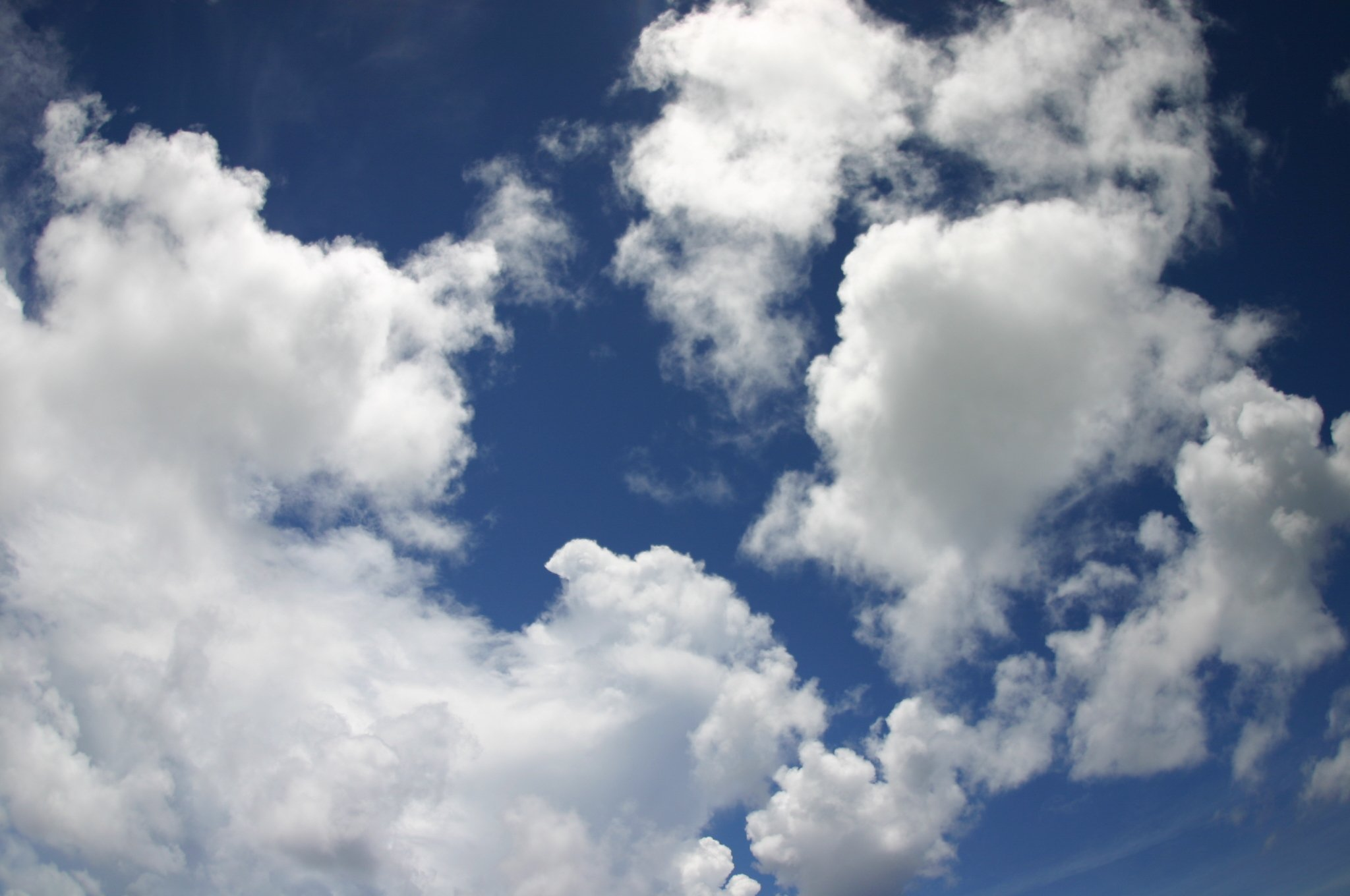 グアムの雲