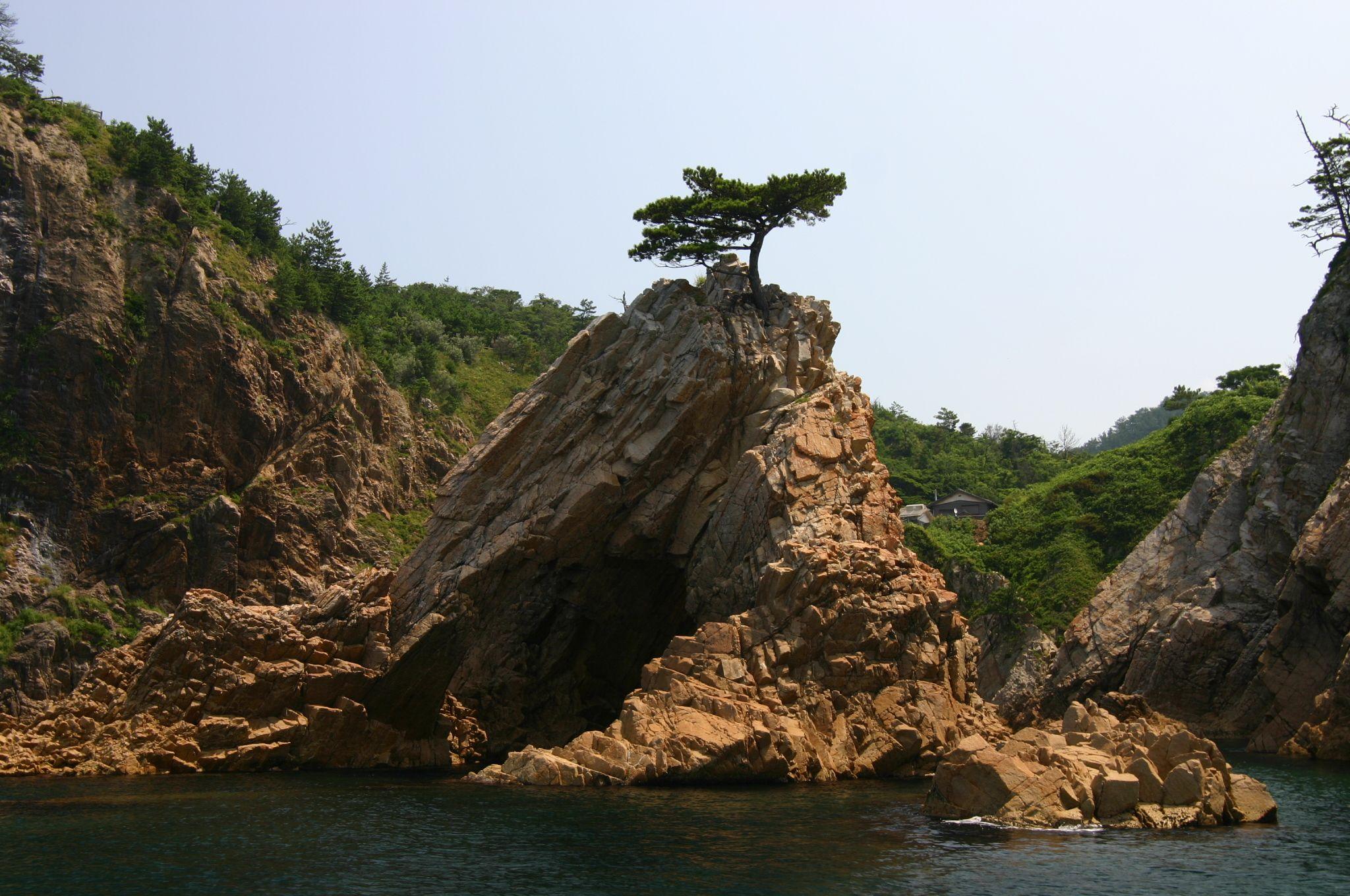 絶景の山陰松島