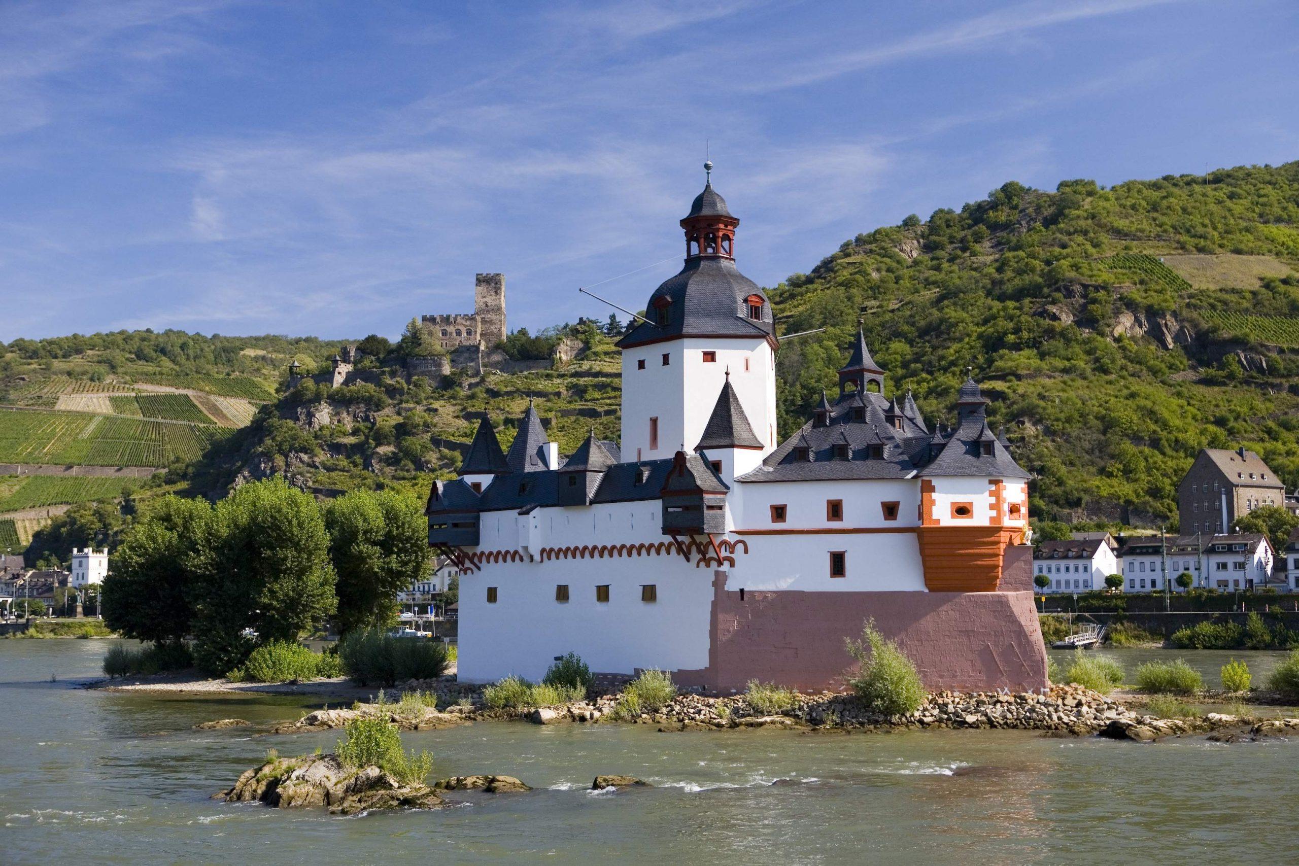 ライン川とお城