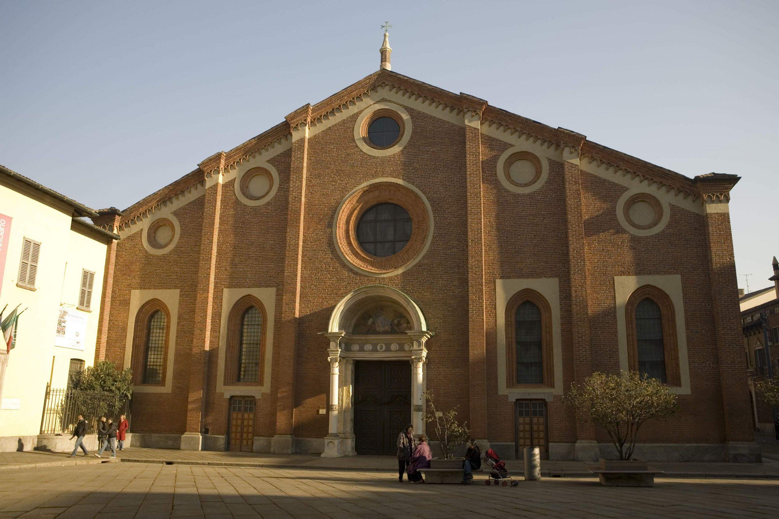 最後の晩餐があるサンタ・マリア・デッレ・グラツィエ教会