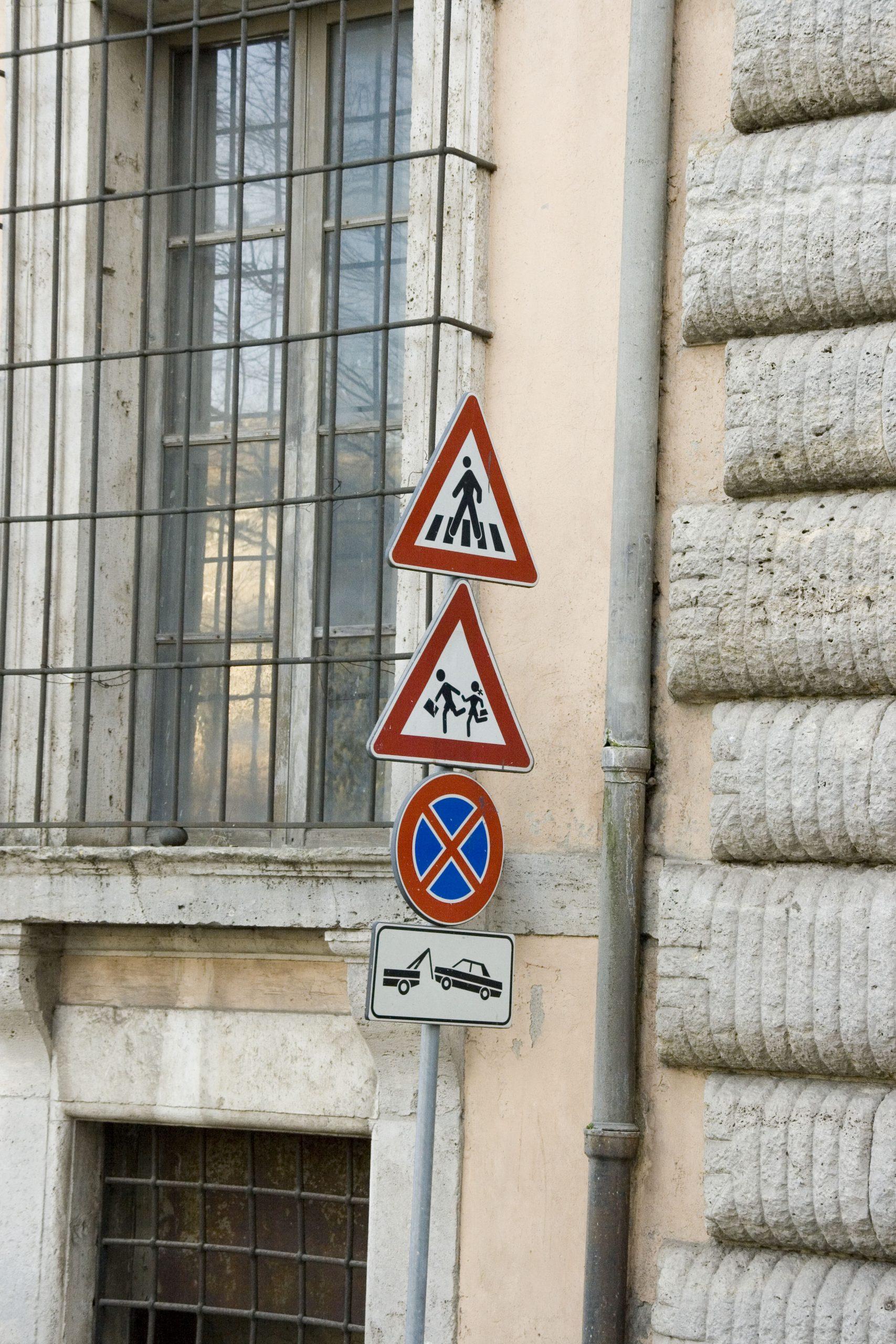 イタリアの標識2