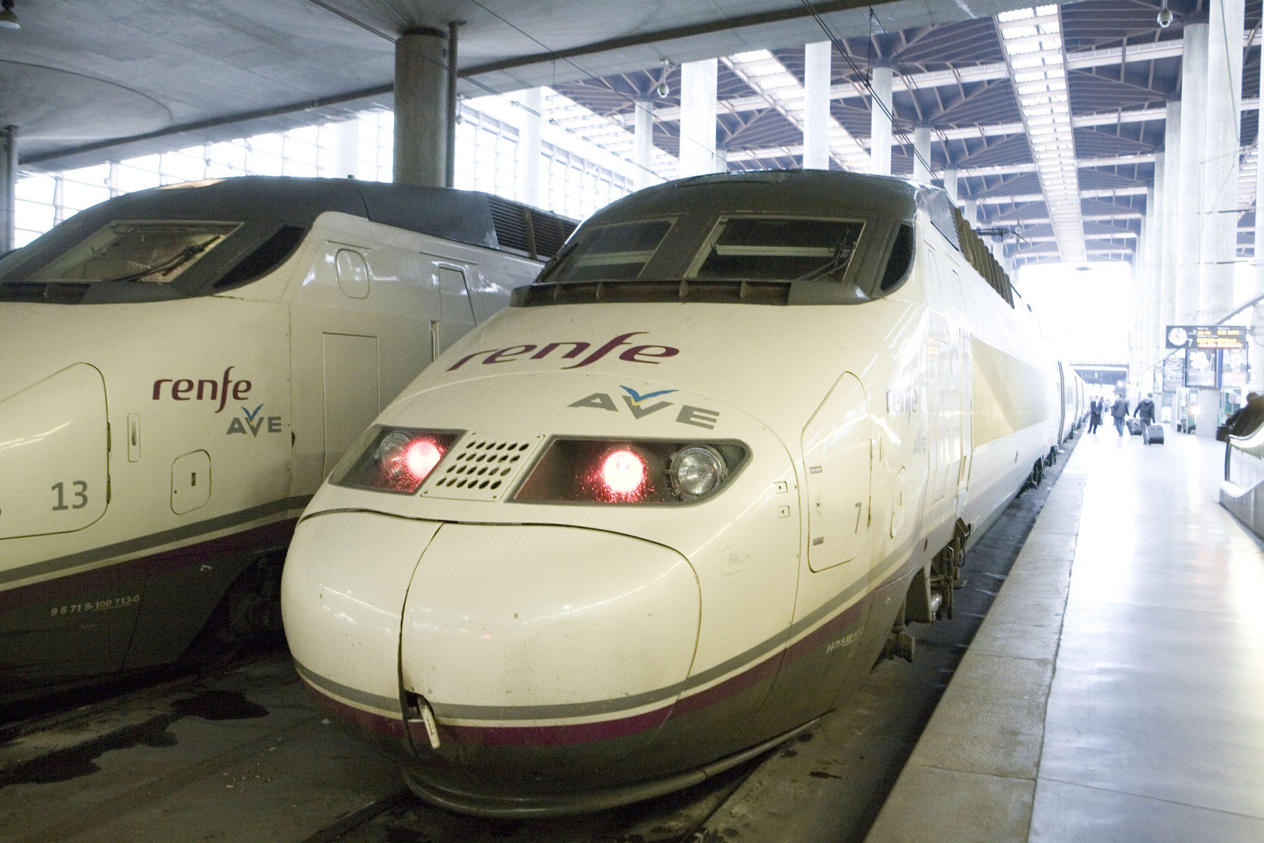 スペインの新幹線AVE