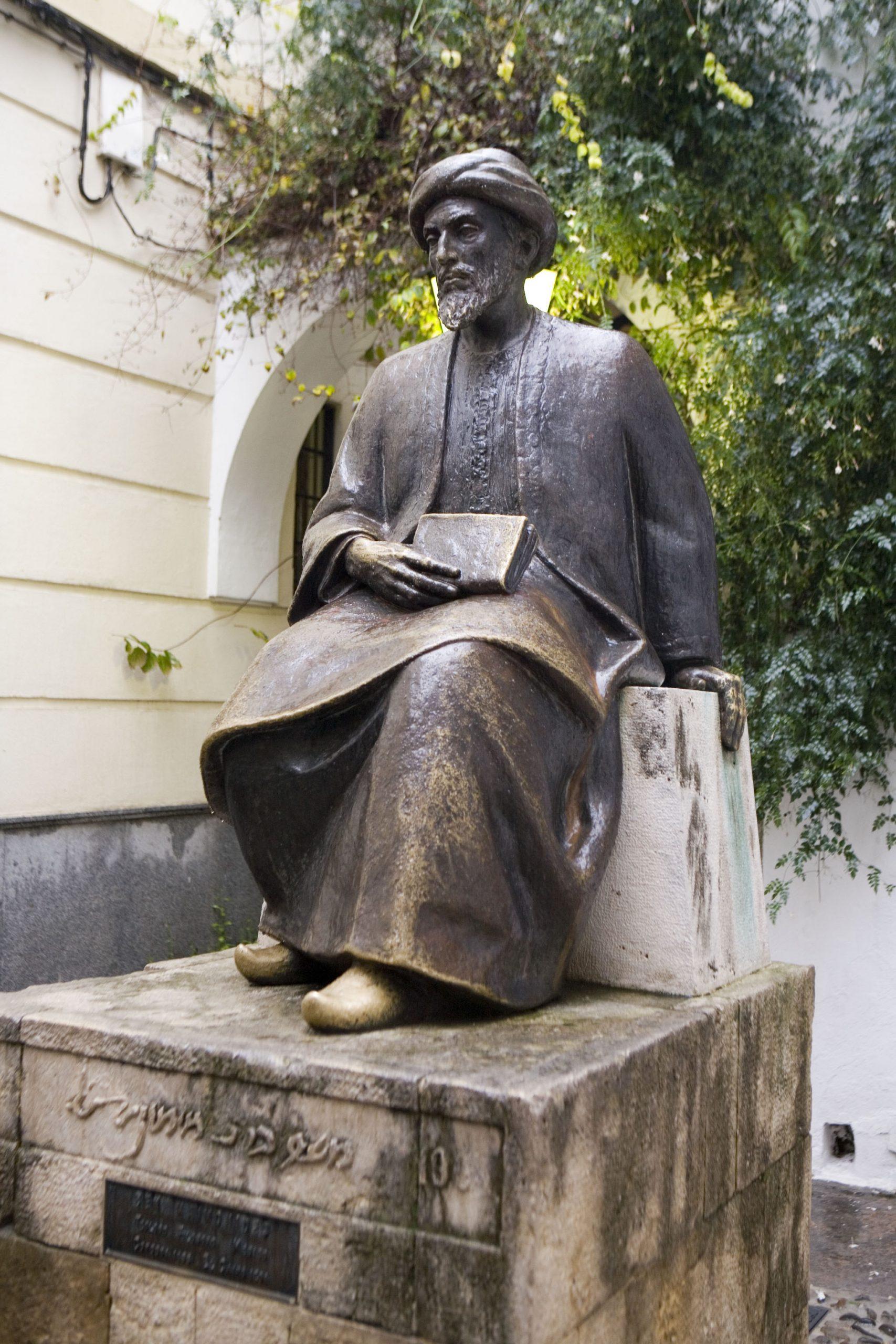 マイモニデスの銅像