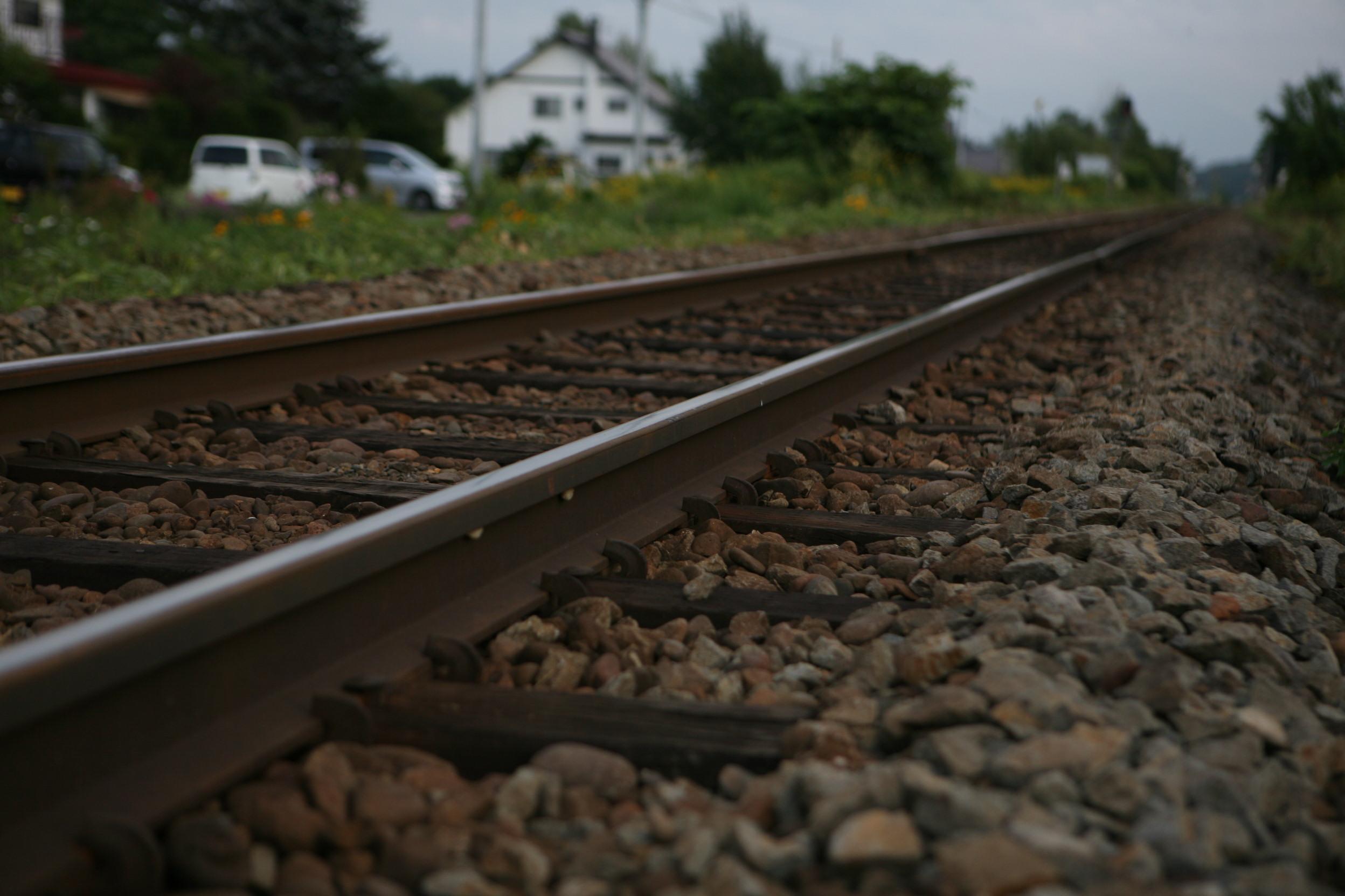 列車の線路