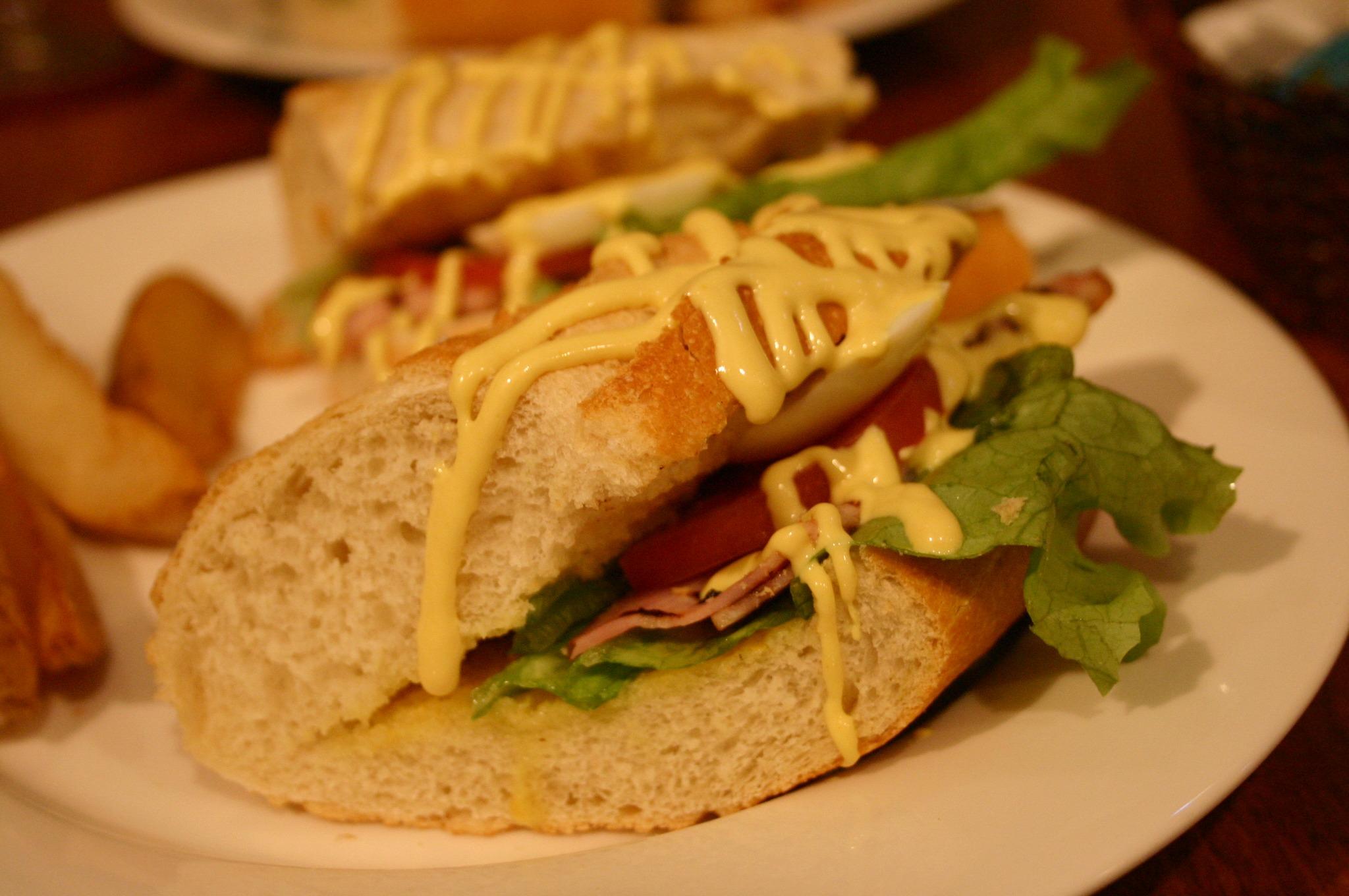 BLTE サンドイッチ