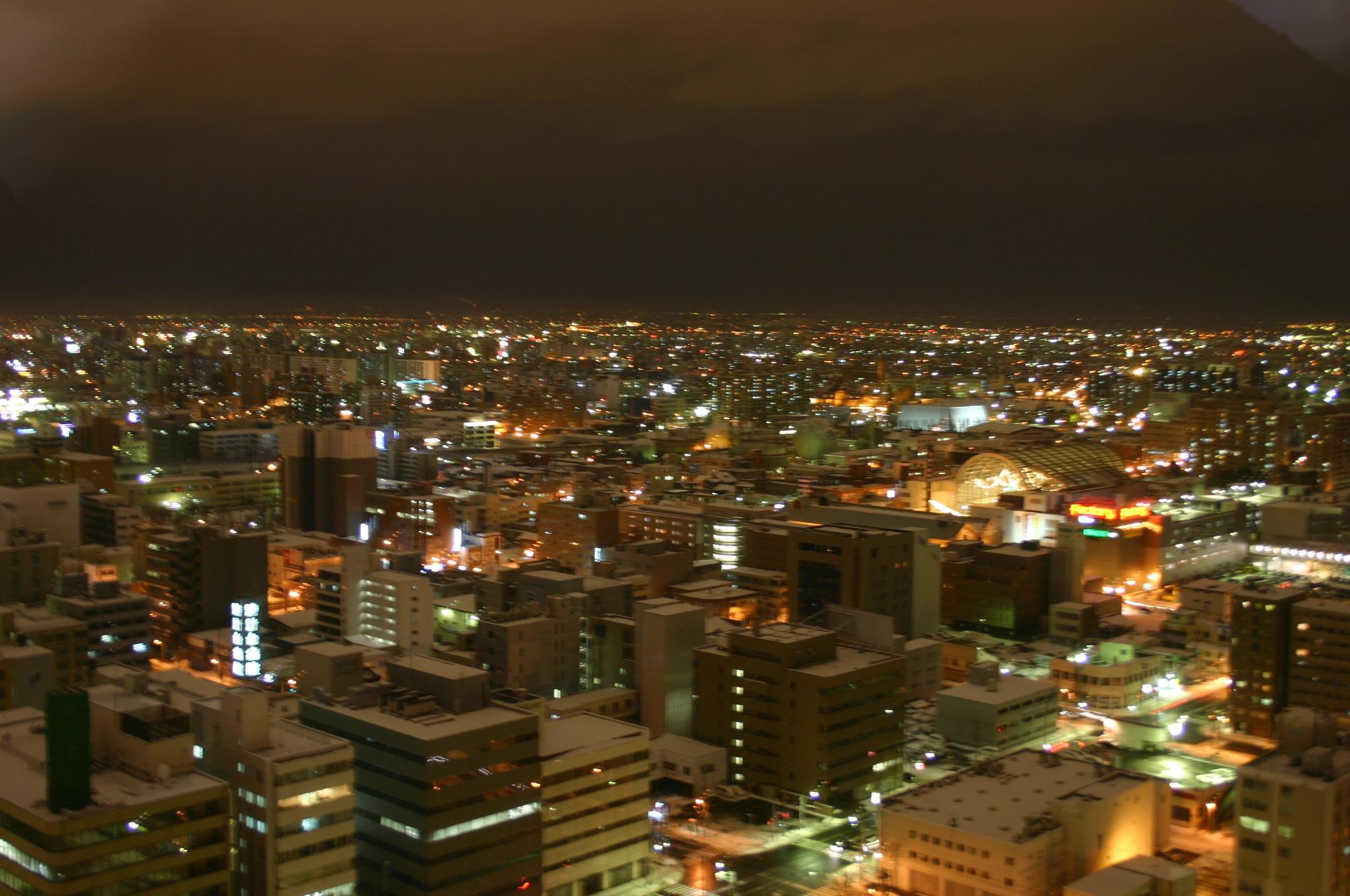 テレビ塔から夜景 その1