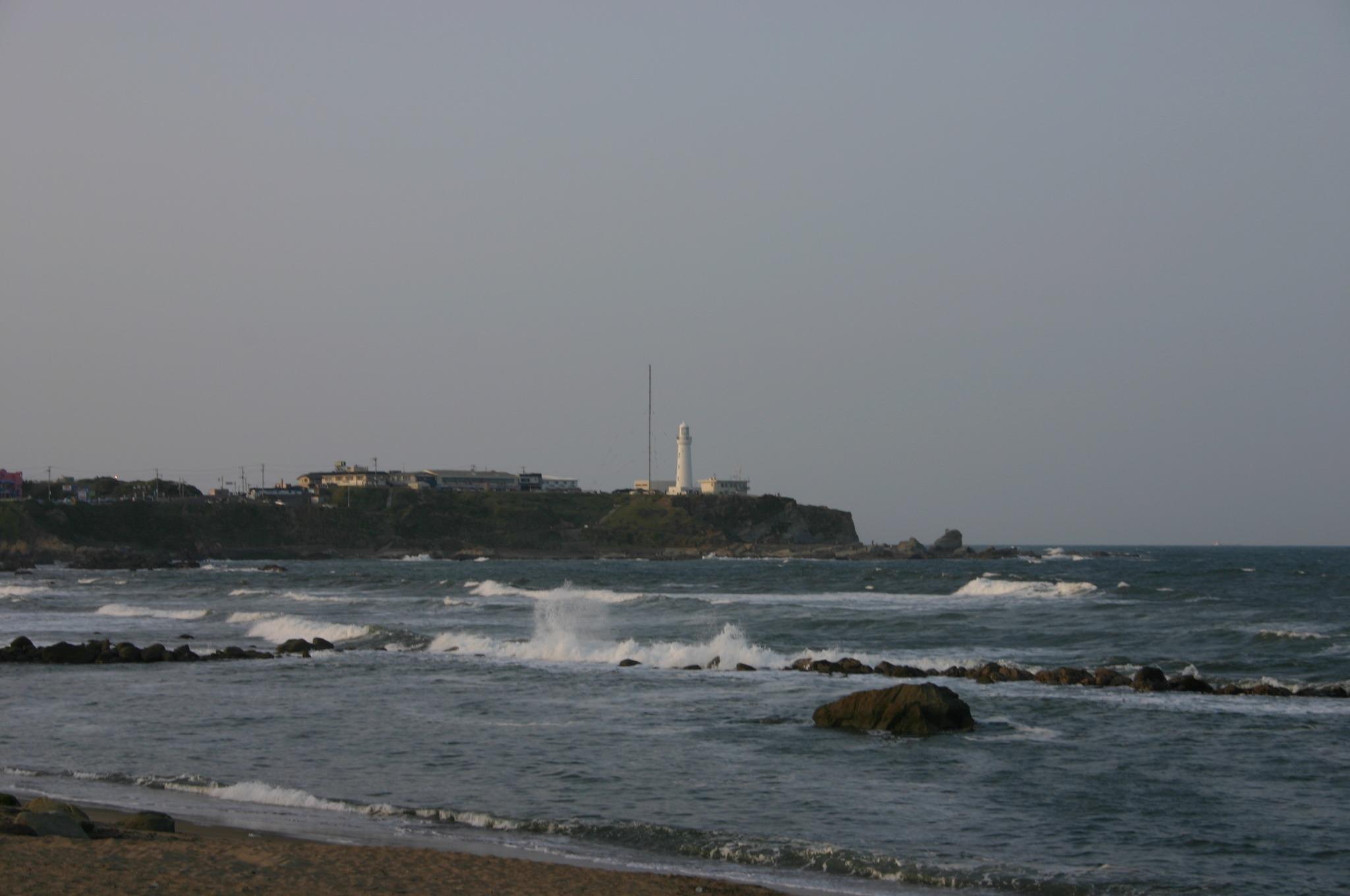 海岸と犬吠崎展望台