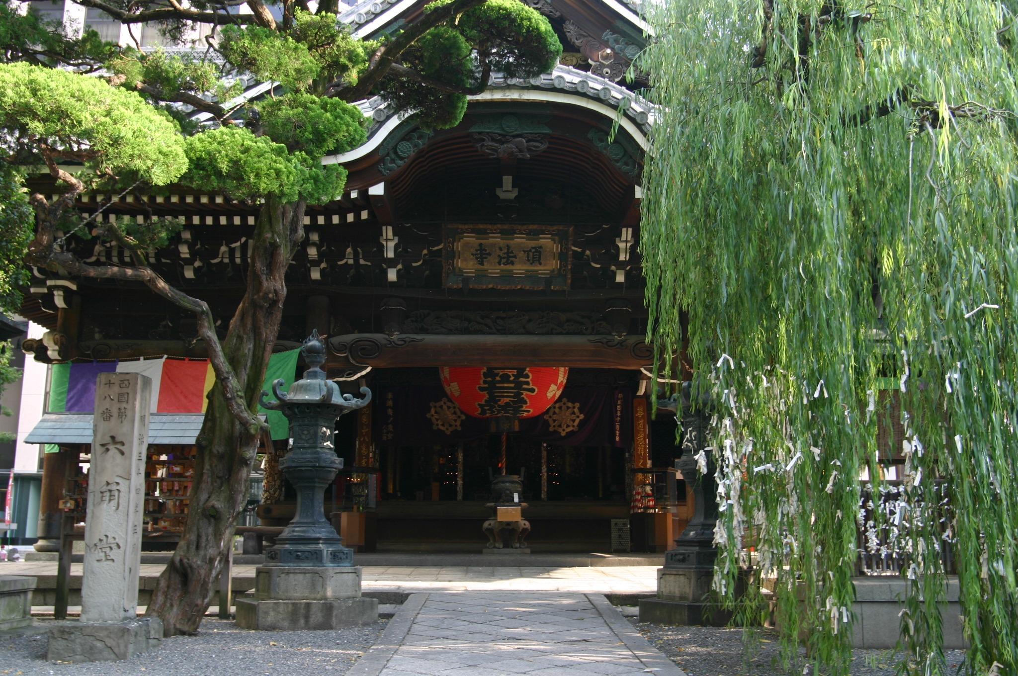 京都 六角堂を訪れる