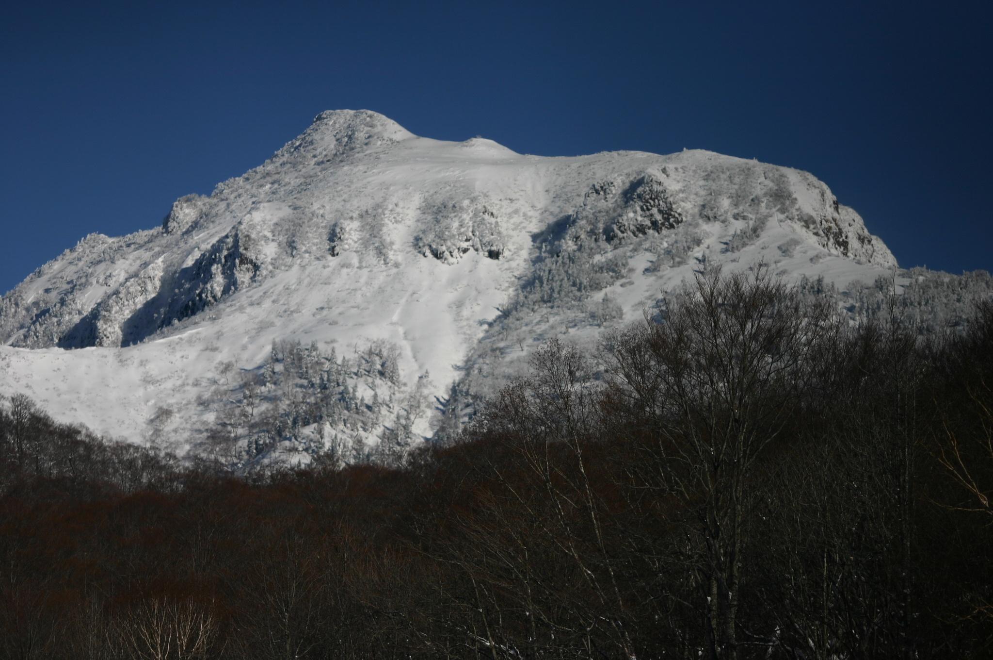 たんばらスキー場周辺の山