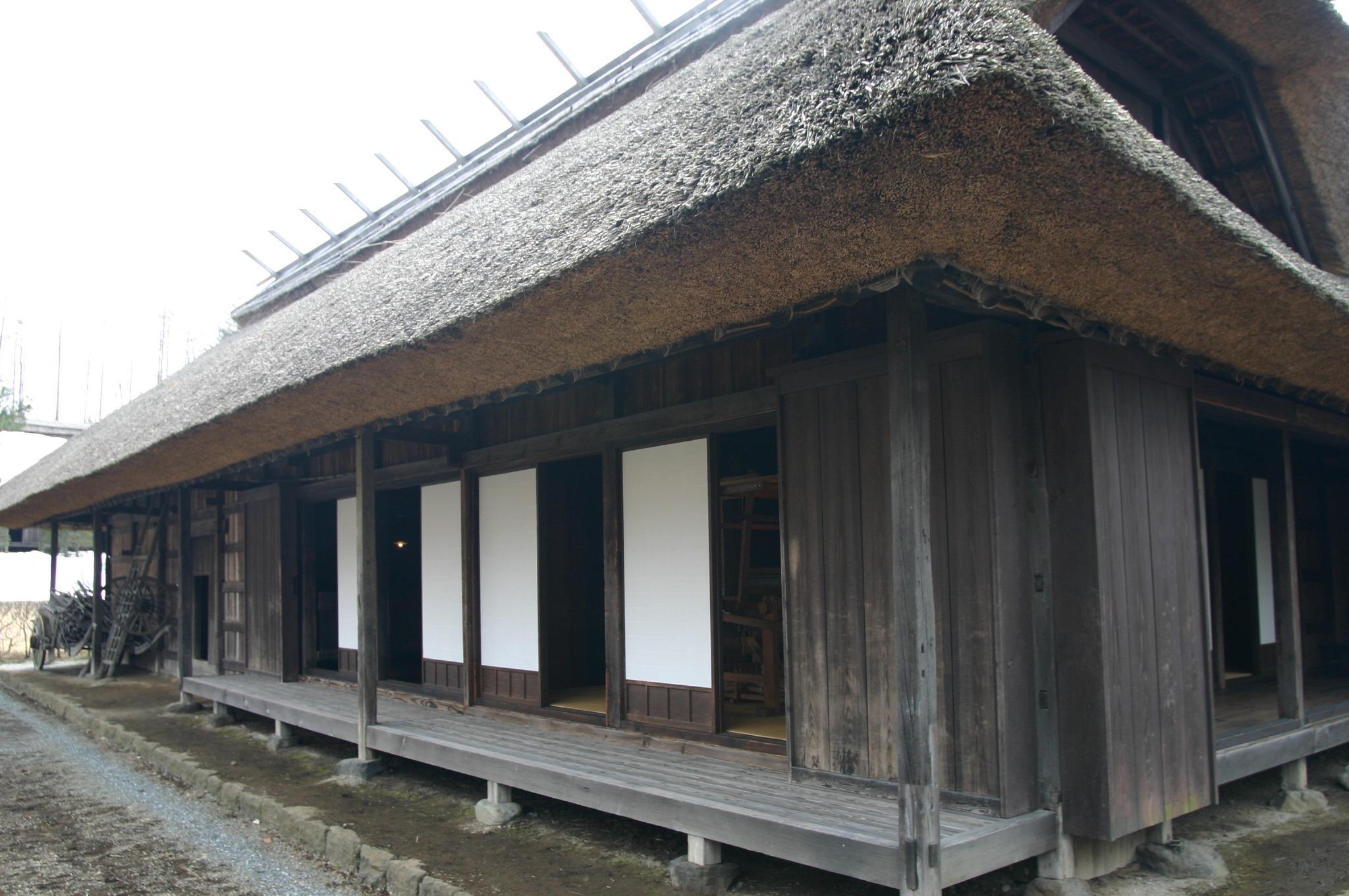 富士吉田市の旧武藤家住宅