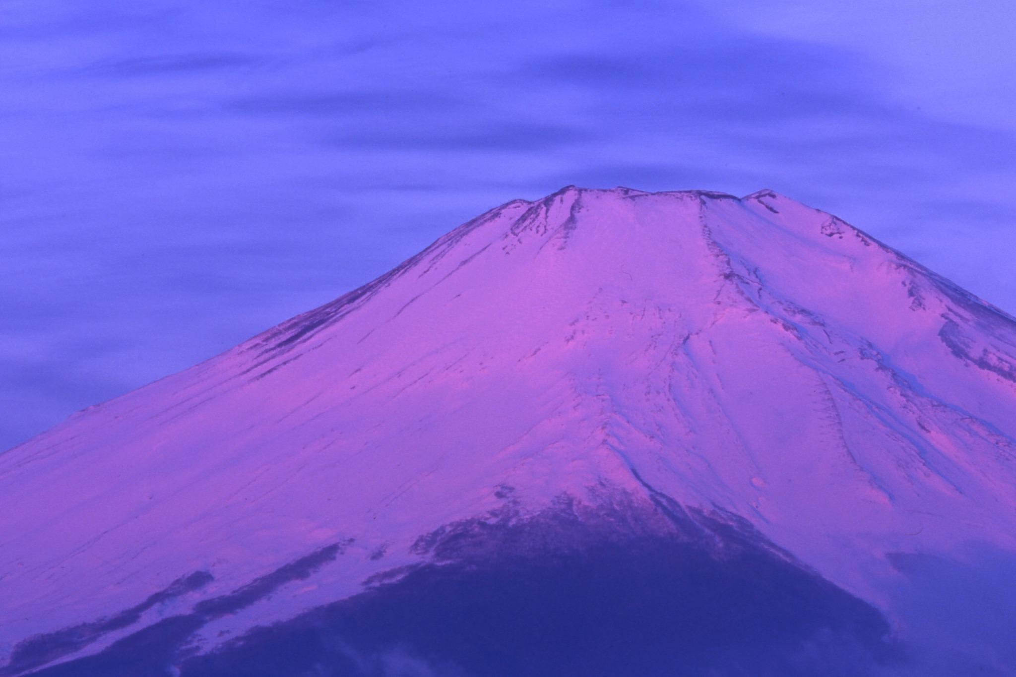 早朝に富士山を撮った